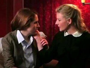 besos de lesbianas